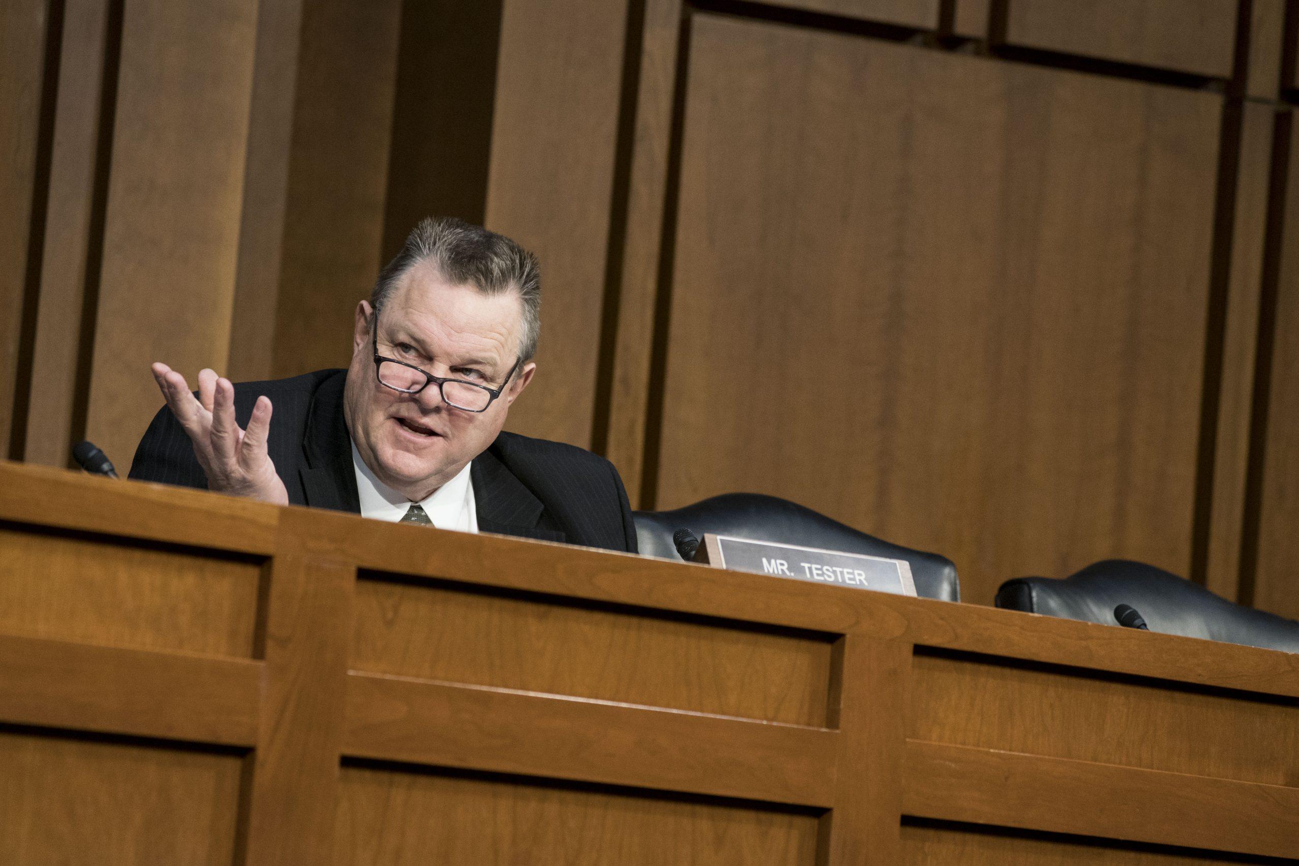 Sen. Jon Tester says 'putting folks back to work' is priority