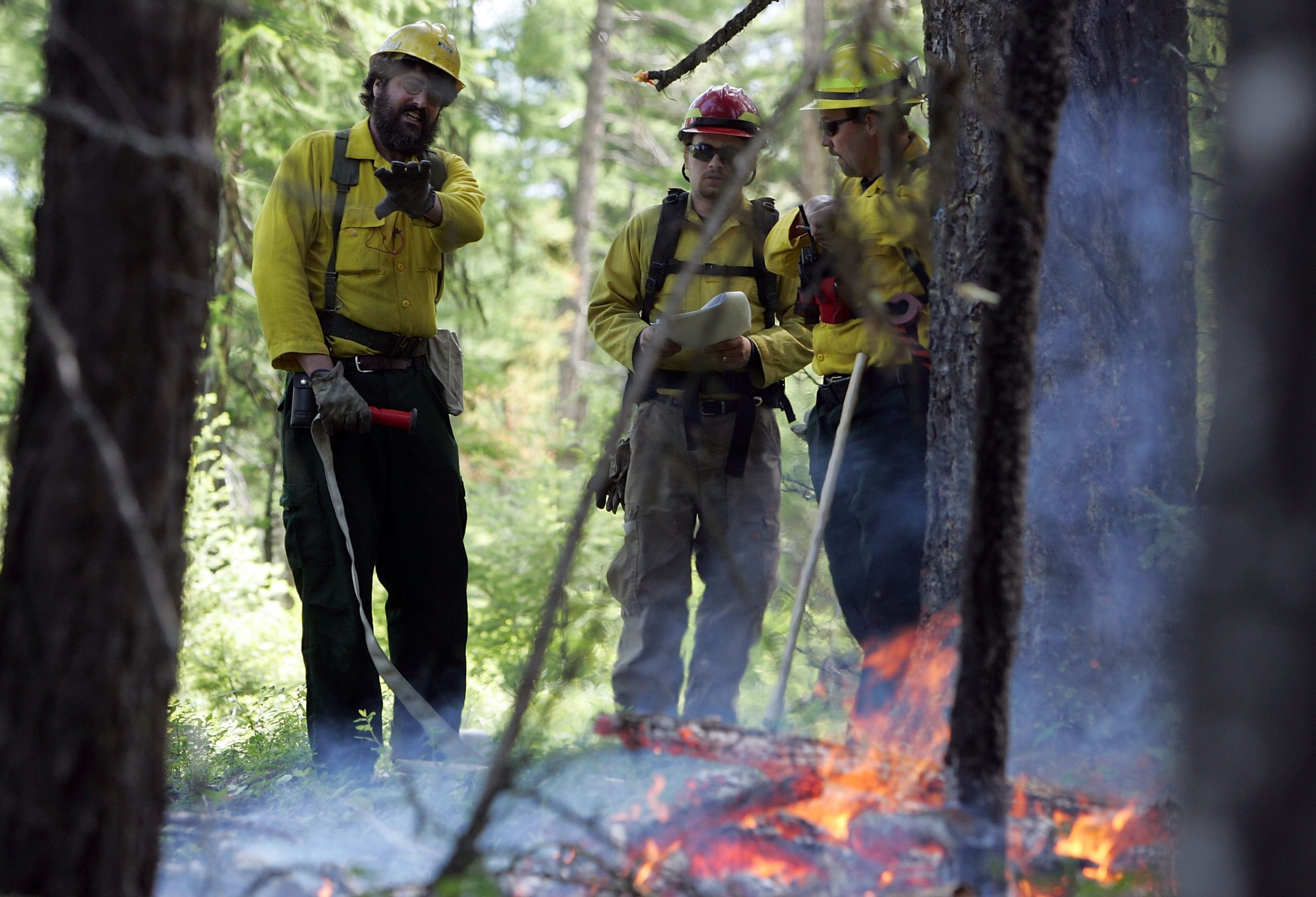 Official: Fire season stretching resources thin