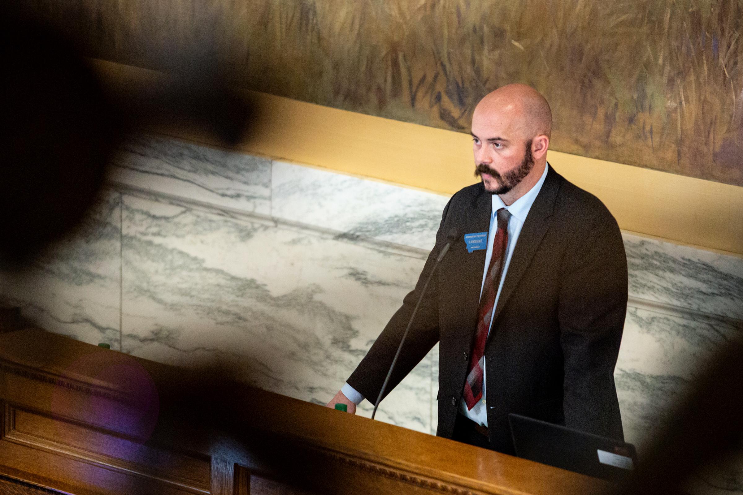Politics is a family business for Speaker Galt