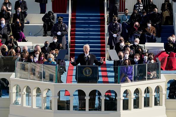 The inauguration speech of Joseph R. Biden, Jr.