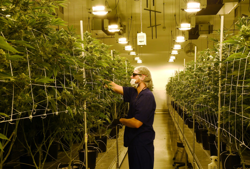 Recreational pot bill headed to governor's desk
