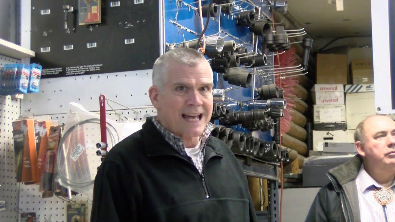 The freewheelin' Rep. Matt Rosendale