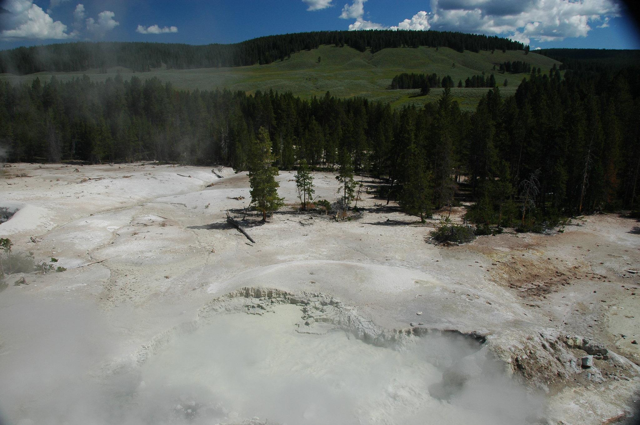 Yellowstone's volcanic giants hiding in plain sight