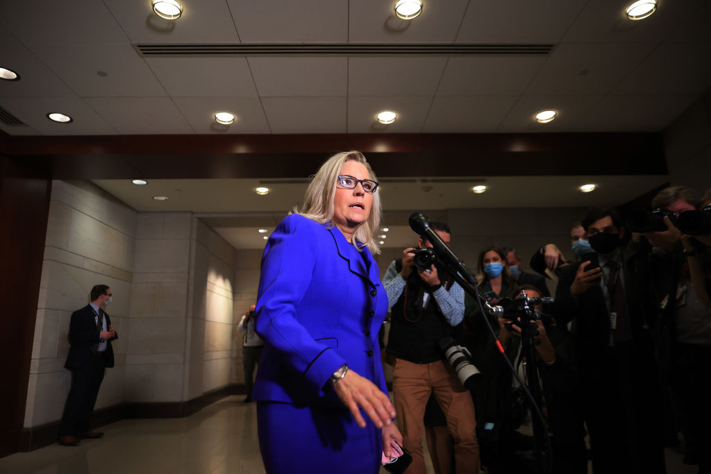 Liz Cheney of Wyoming gets ousted from House leadership for not supporting Trump
