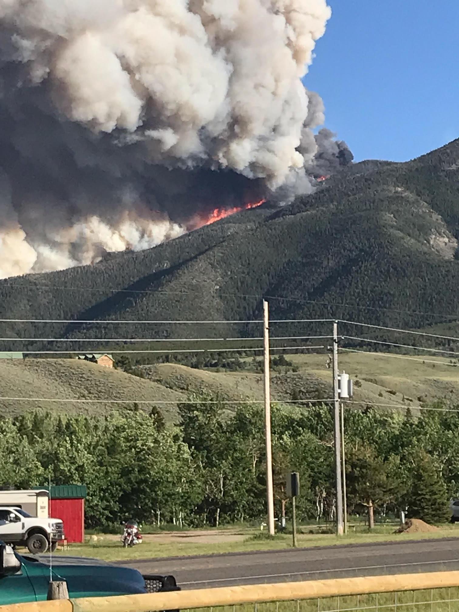 Montana just added a new season -- fire season