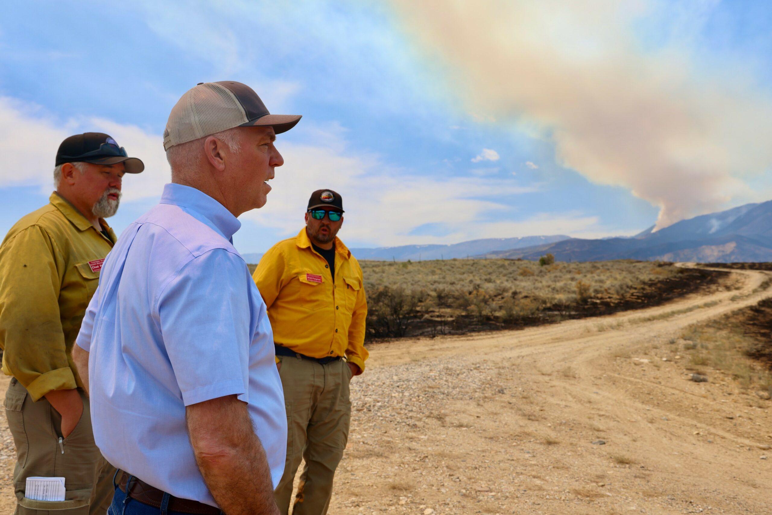 Gianforte snubbed as Biden announces wildfire initiatives