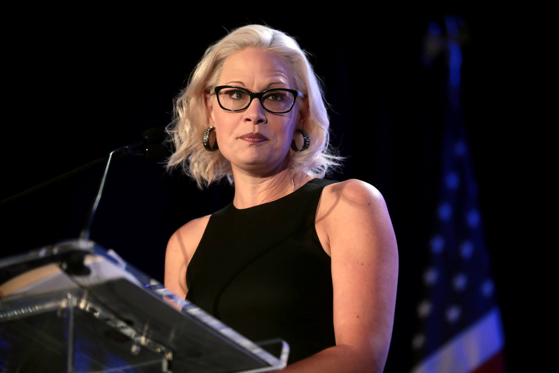 Sinema's record comes under scrutiny after Biden's remarks