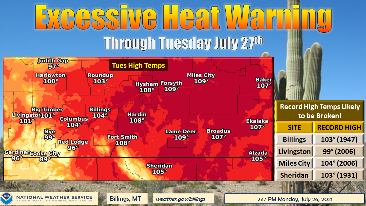 The heat is on: Montana likely to stay hot, dry for months