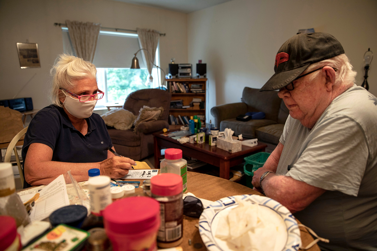 Seniors often wait months for home health care workers