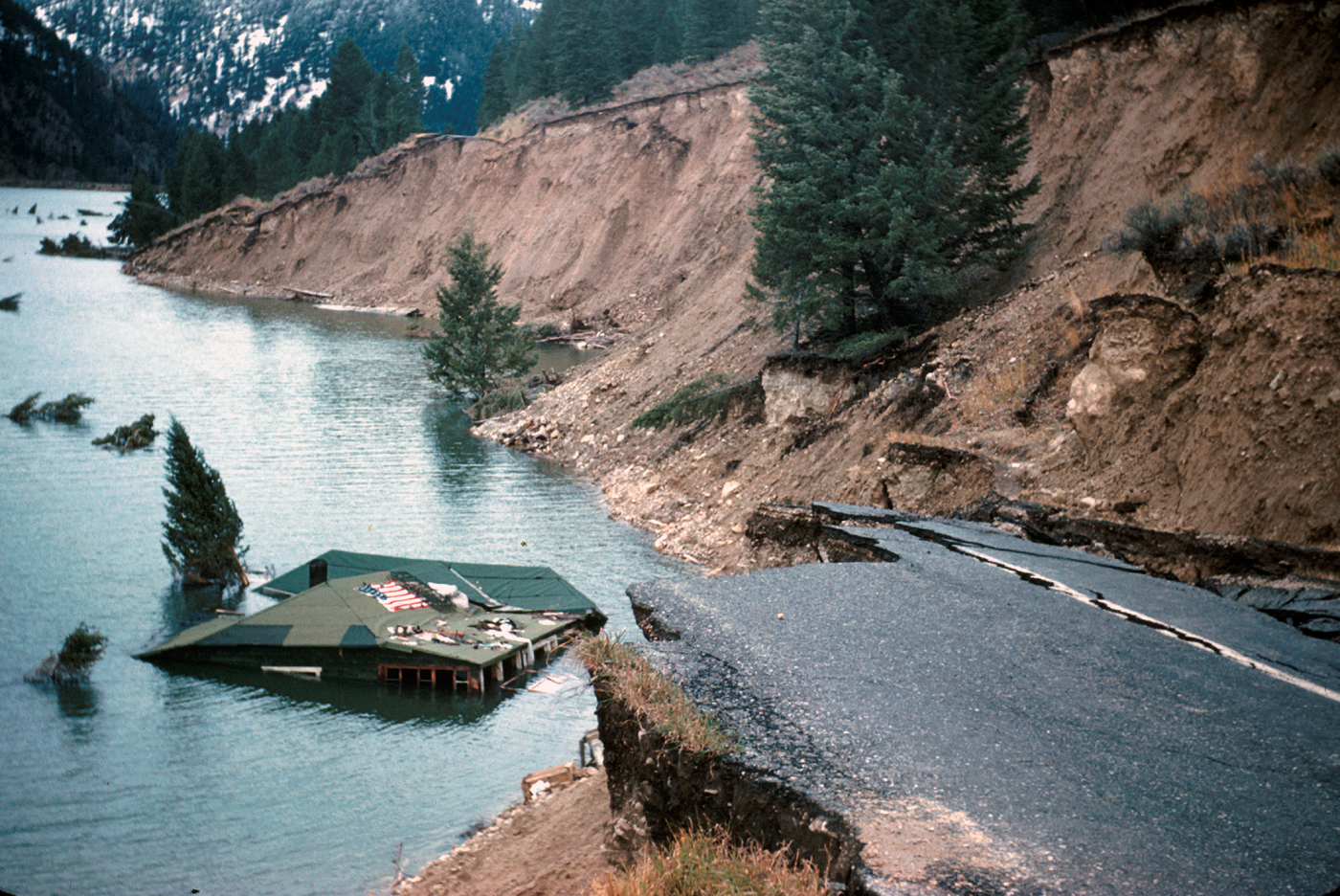 The past is alive: Hebgen Lake M7.3 earthquake in 1959 still influences Yellowstone National Park today